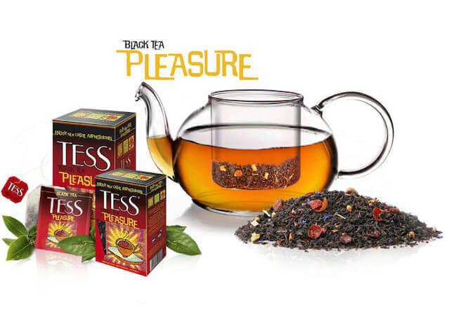 Бодрящий чай без кофеина от Тесс
