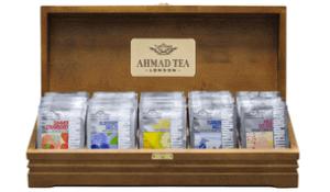 Ассортимент чая ахмад