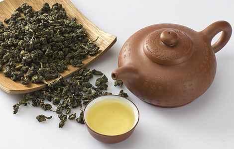 Китайский молочный зеленый чай