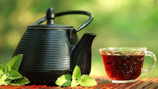Завареный элитный чай