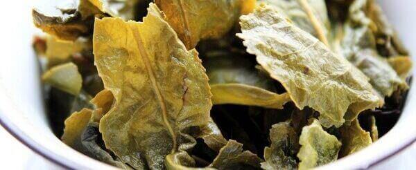 Листья чая молочный улун