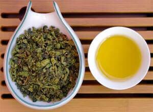 Заварка и чай молочный улун