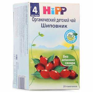 Чай Хипп (Hipp) с шиповником