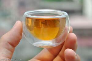 Чашка чая шен пуэр
