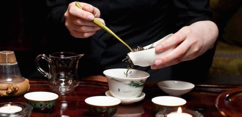 Заваривание чая шен пуэр