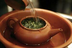 Заваривание зеленого чая