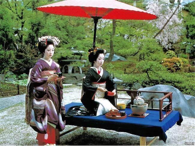 Четыре принципа японской чайной церемонии