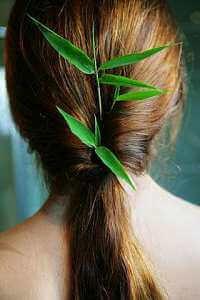 Волосы девушки