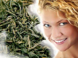 Зеленый чай и девушка