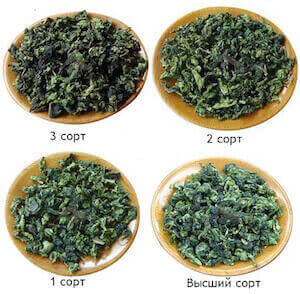 Сорта чая Тегуаньинь