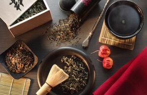 Приготовление китайской чайной церемонии