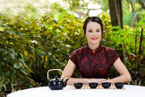 Начало китайской чайной церемонии