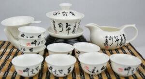 Фарфоровая чайная посуда