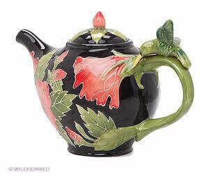 Фарфоровый заварочный чайник