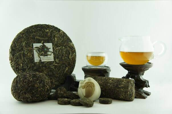 Зеленый пуэр: чай, которому чужда спешка