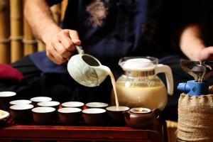 Заваривание калмыцкого чая