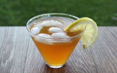 Чайный гриб со льдом