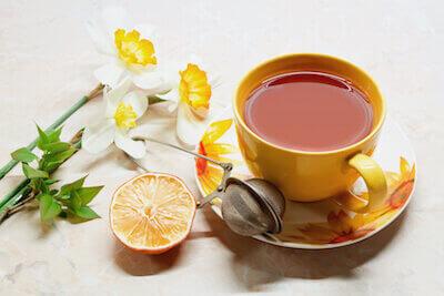 Чашка чая как элемент личного пространства