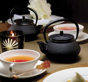 Чайная посуда из чугуна
