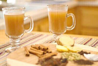 Имбирный пряный чай для похудения: фитотерапия вместо диеты