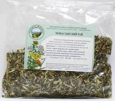 Трава монастырского чая