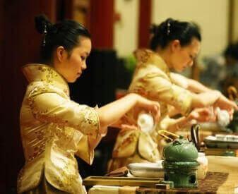Заваривание чайной церемонии