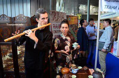 Чайная церемония у заказчика