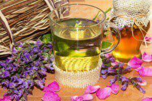 Монастырский чай с цветами