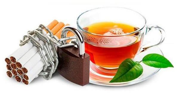 Принимая чай от курения нельзя резко менять свой образ жизни