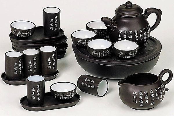 Традиционный китайский набор для чайной церемонии
