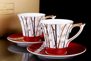 Чайная пара из фарфора