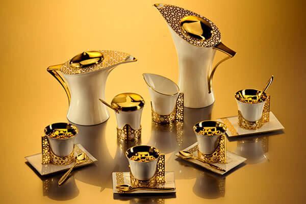 Предметы чайного набора могут быть самой разной формы