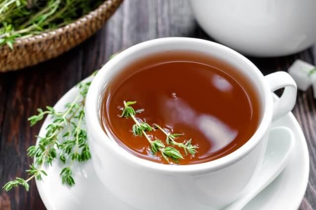 Чай с травой